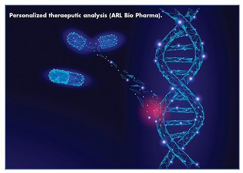 Personalized theraeputic analysis (ARL Bio Pharma).