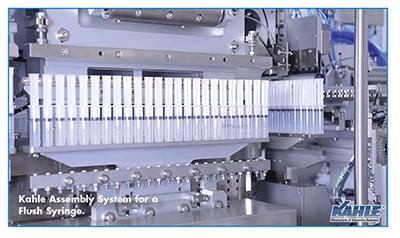 Kahle Assembly System for a Flush Syringe.