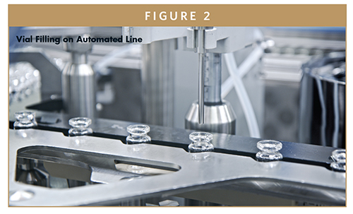 Vial Filling on Automated Line
